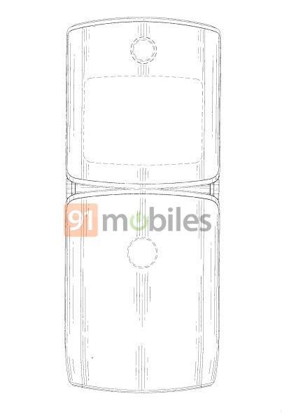 Motorola RAZR 2019 patent2