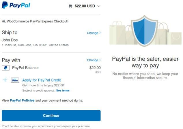 Πληρωμή με PayPal