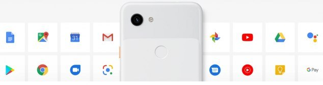 Pixel 3a, 3a xl κινητά τηλέφωνα με καθαρό android
