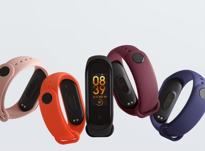 Xiaomi Mi Band 4 χρώματα