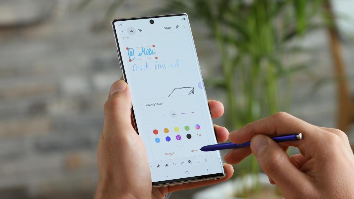 Samsung Galaxy Note 10 - 06