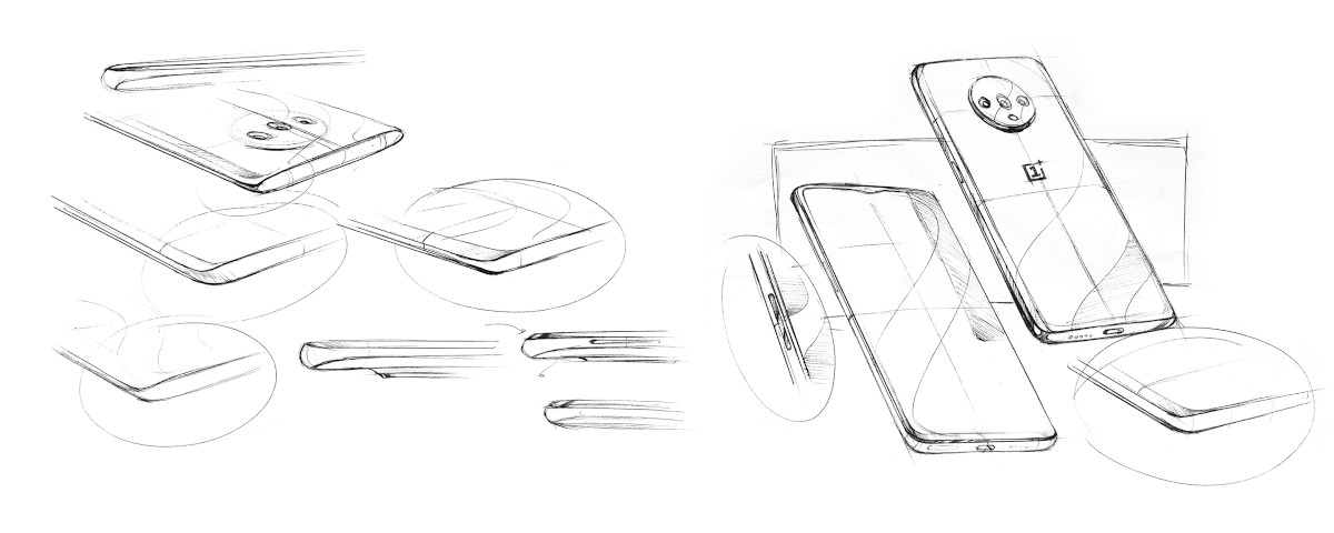 OnePlus 7T σχεδίαση