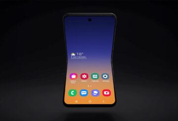 Samsung Clamshell Foldable - 01