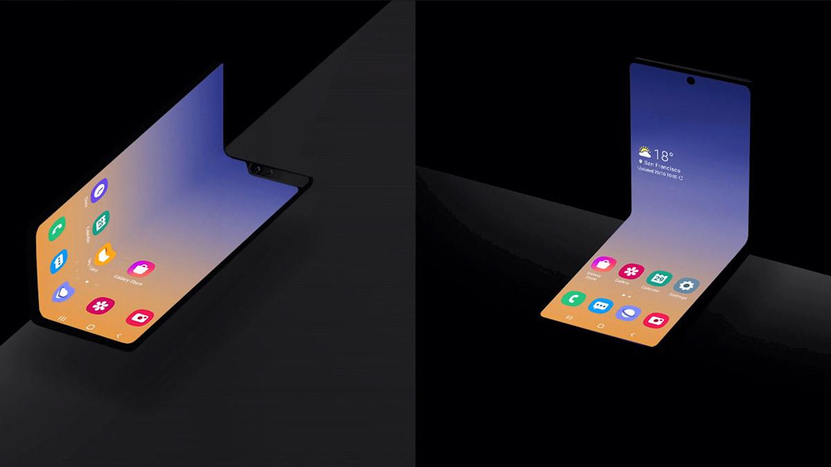 Samsung Clamshell Foldable - 02
