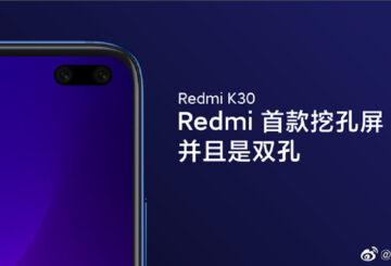 "Redmi K30: Θα είναι 5G με διπλή ""punch hole"" selfie κάμερα 1"