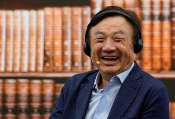 Ο CEO της Huawei πιάστηκε στα πράσα με Apple iPad... 1