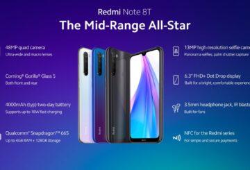 Xiaomi Redmi Note 8T: Τεχνικά χαρακτηριστικά, τιμή και κουπόνια 1