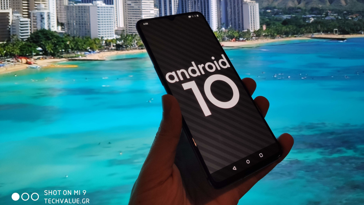 Android 10 αναβάθμιση
