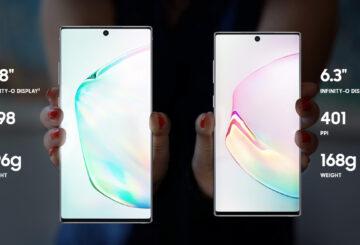 Samsung Galaxy Note 10 Χαρακτηριστικά