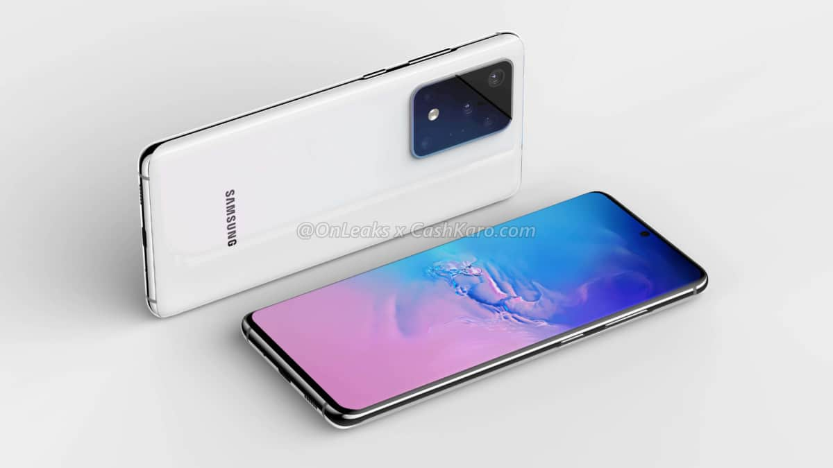 Samsung Galaxy S20 διαρροές