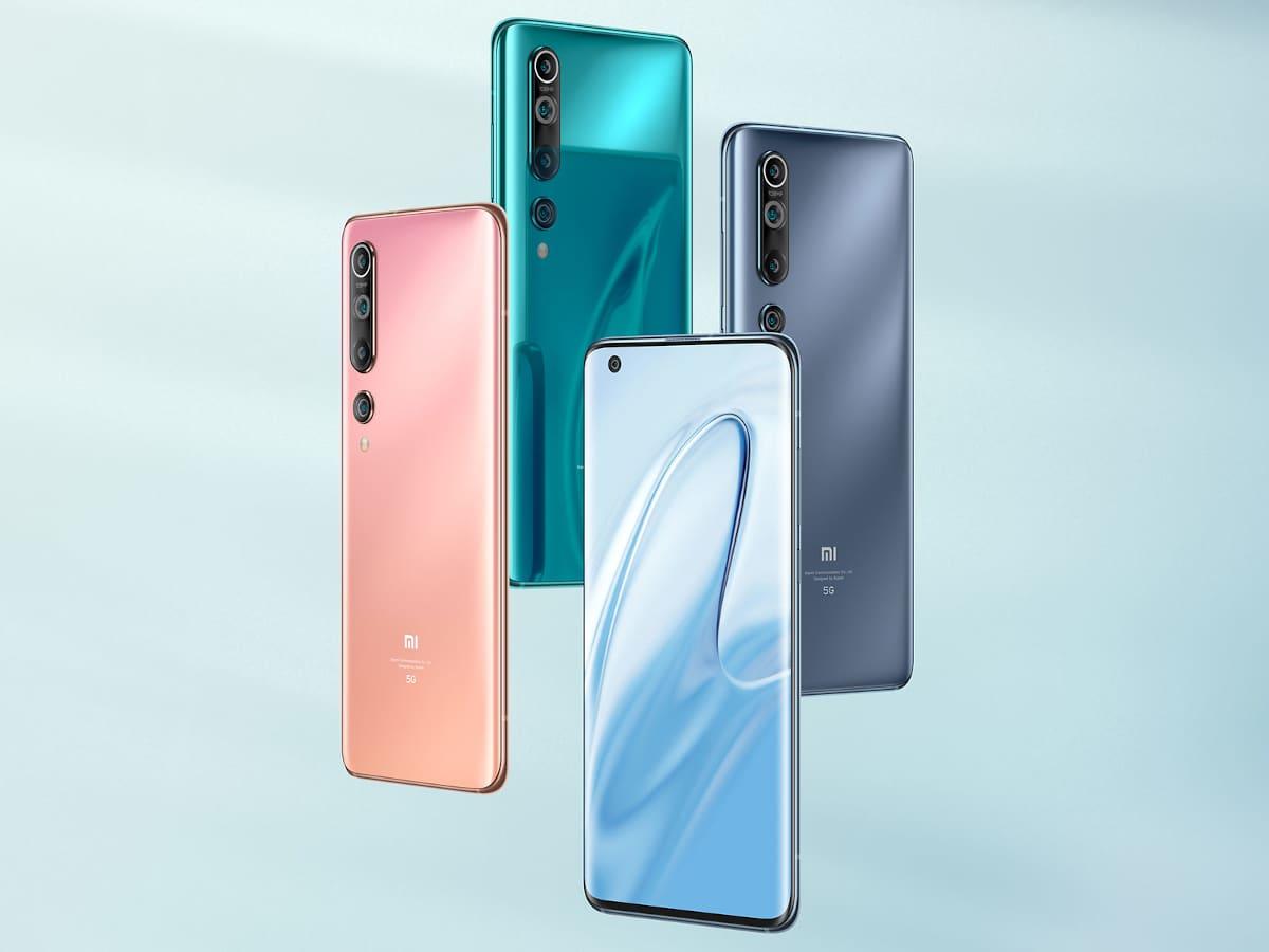Xiaomi Mi 10 χρώματα