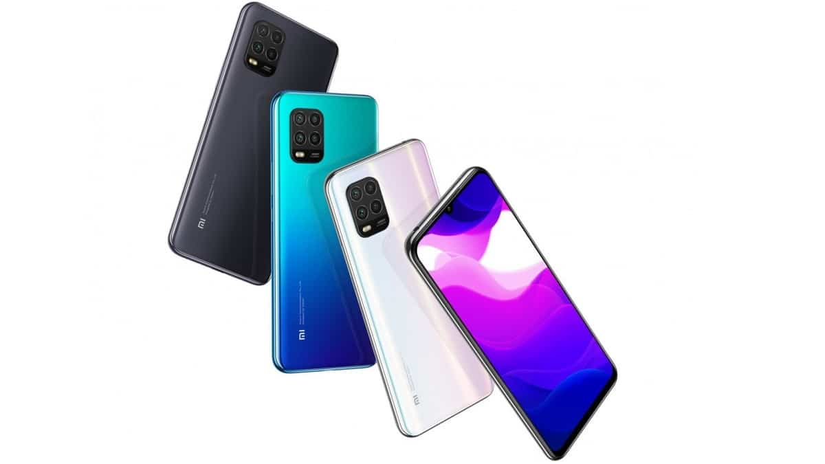 Xiaomi Mi 10 lite σε μπλε γαλάζιο λευκό και μαύρο γκρι