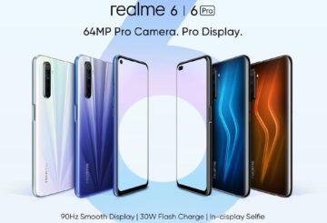 Αποκαλύφθηκαν τα Realme 6 και 6 Pro 4