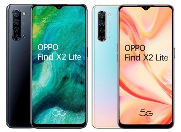 Oppo Find X2 Lite χρώματα