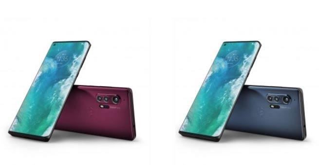 Motorola Edge+ κόκκινο και γκρι
