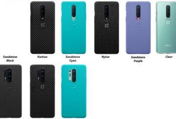 Θήκες για τα OnePlus 8 και 8 Pro μαρτυράν νέα χρώματα sandstone 2