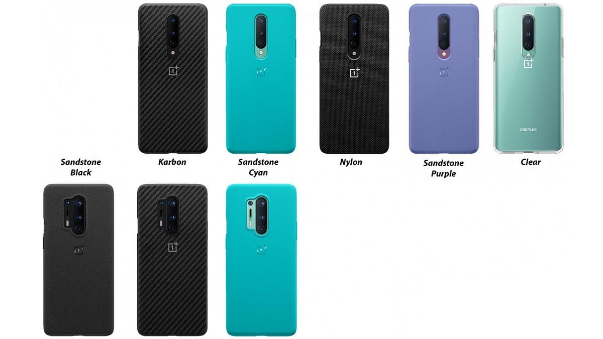 OnePlus 8 χρώματα θήκες