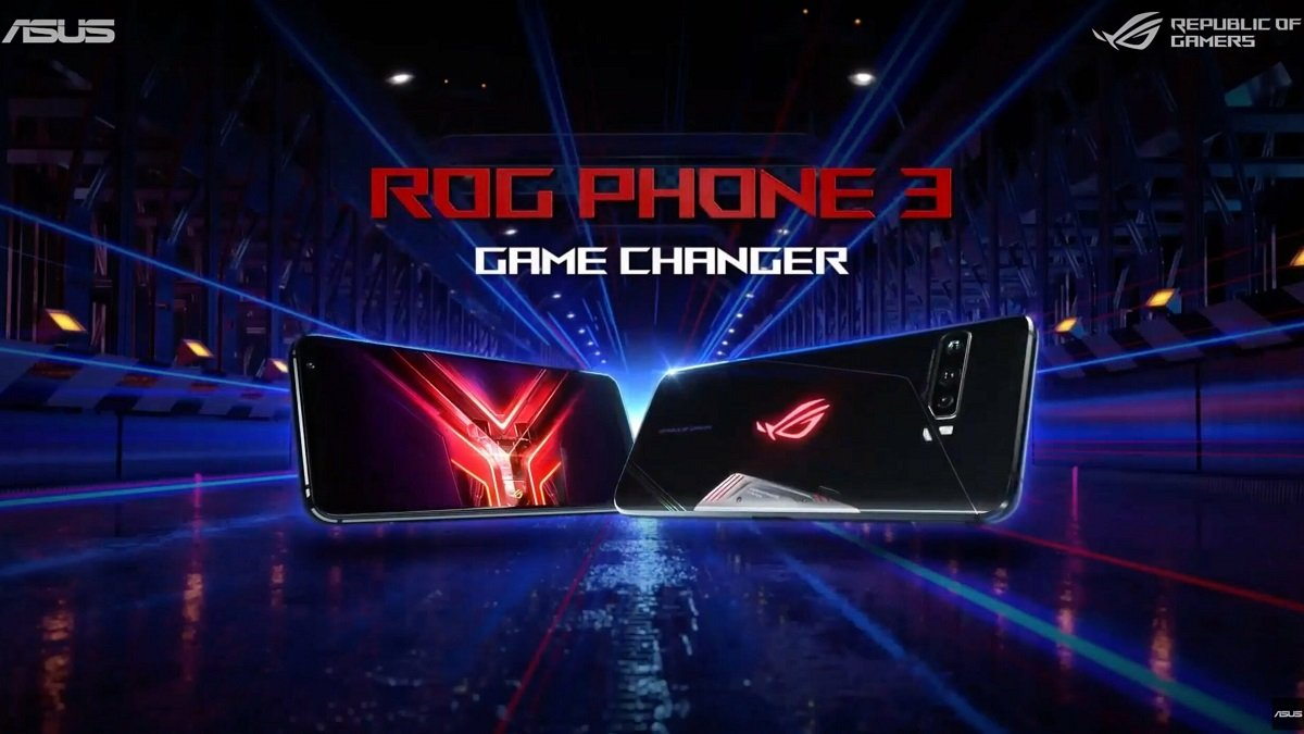 Asus Rog Phone 3 gaming κινητό