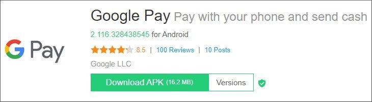 Goolge Pay Download apk
