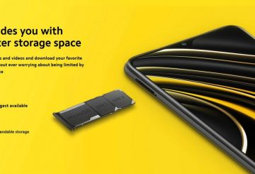 Xiaomi Poco M3 Memory SD