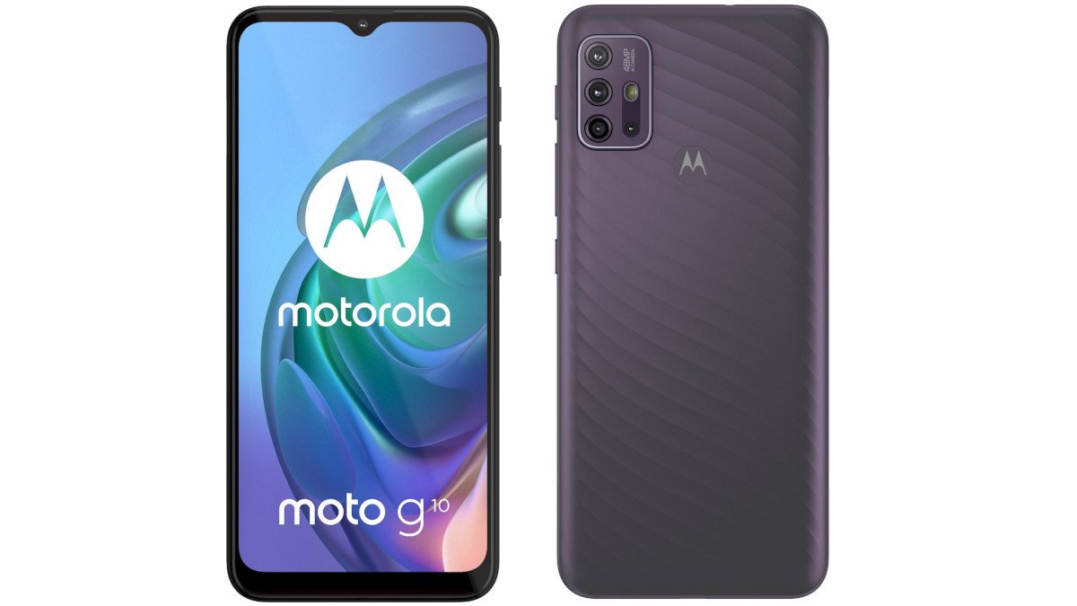 Motorola Moto G30 πλάτη και πρόσοψη