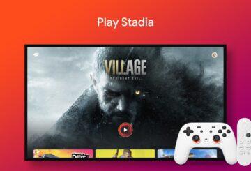 google stadia android tv